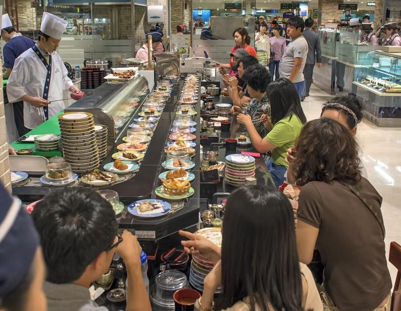 回転寿司 gwangju south korea