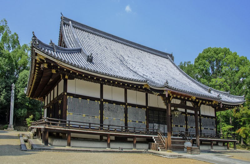 仁和寺 kondo ninnaji kyoto japan