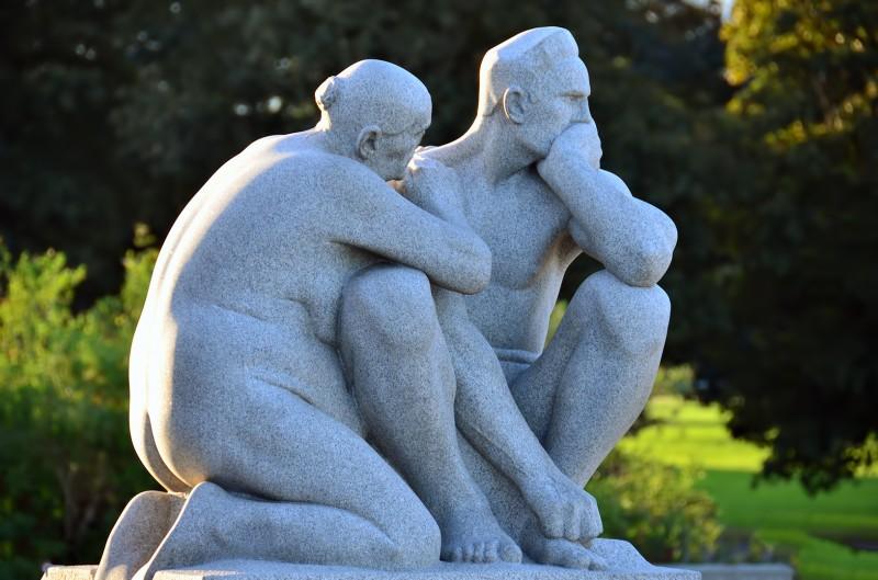 Gustav Vigeland sculpture frogner park parken
