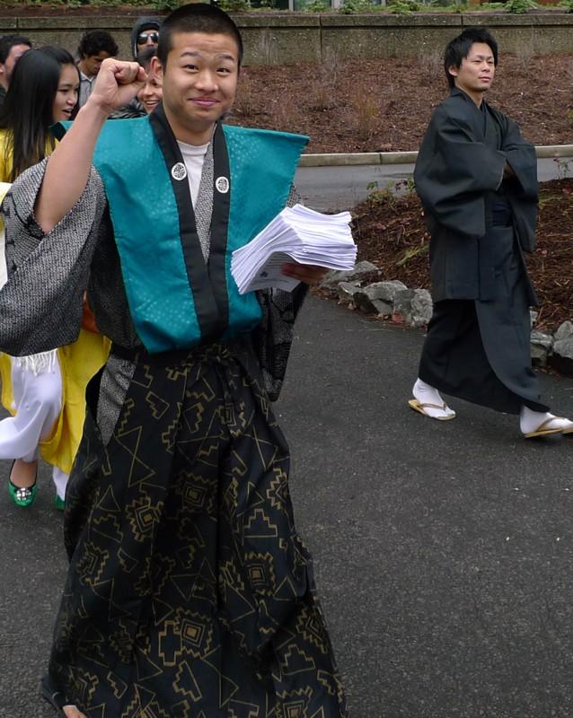 takumi international week sou parade