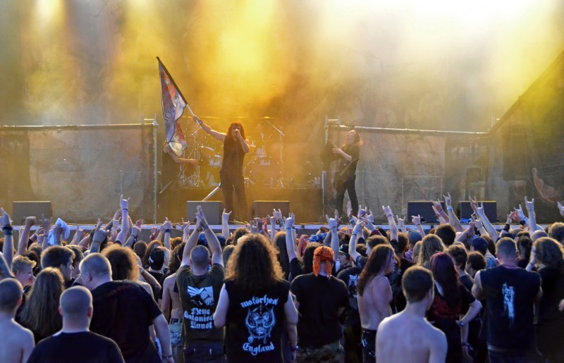 Mille Petrozza kreator flag of hate