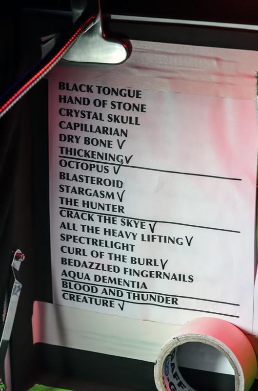 mastodon the hunter tour set list setlist