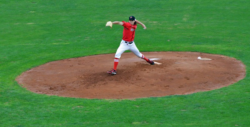 Chris Seddon wyverns left handed pitcher