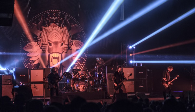 mastodon oakland fox theater