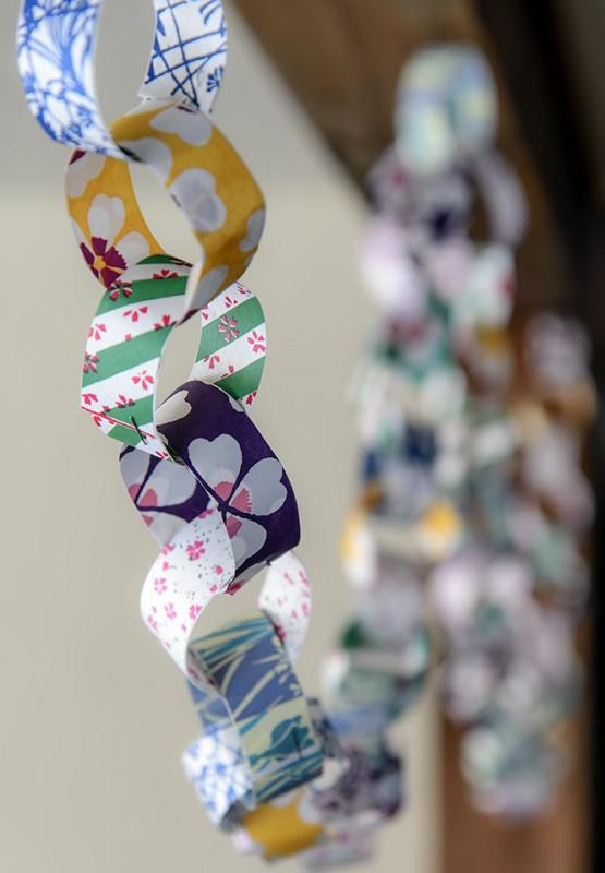 japanese paper chain isetatsu yanaka tokyo
