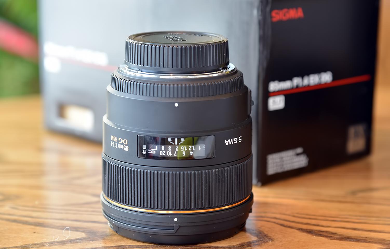 Sigma 85mm F 14 Ex Dg Hsm Prime Lens For Nikon Cameras Sale 13d 1701 1 4