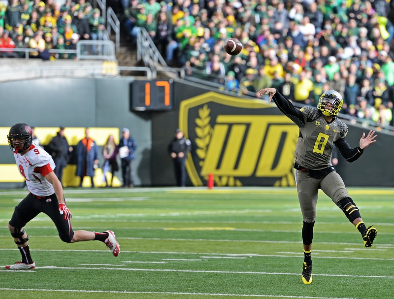 Marcus Mariota oregon ducks football trevor reilly utah utes