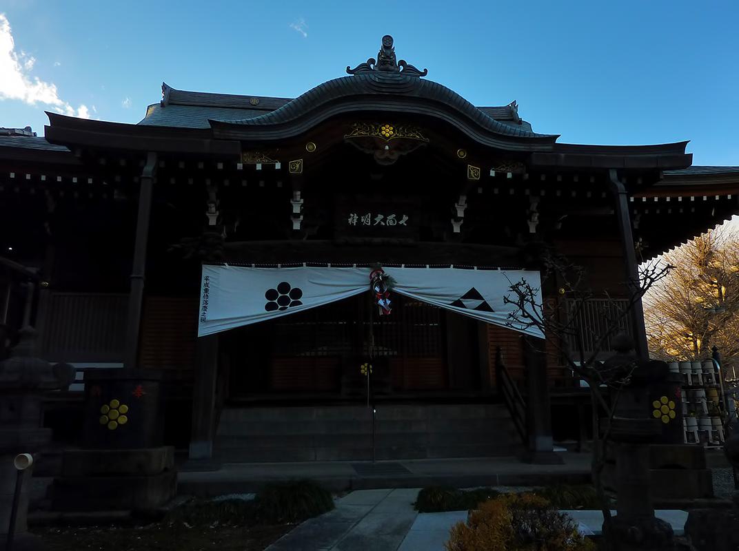 Ryochoin 亮朝院 on new year's eve