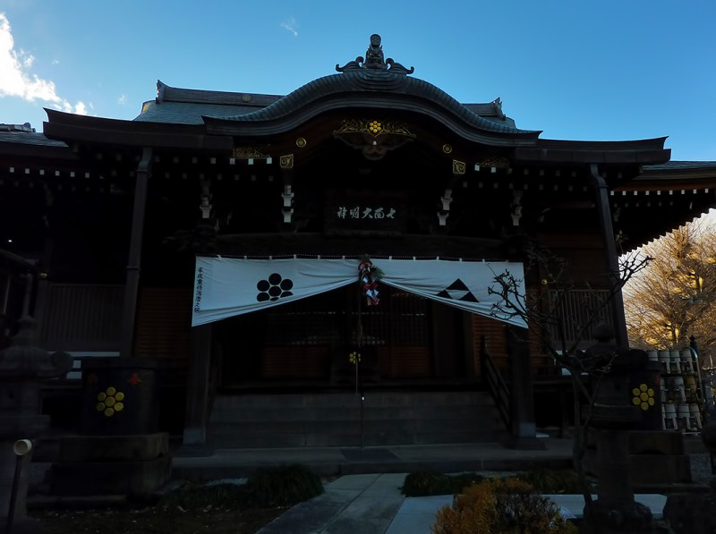Ryochoin 亮朝院 on new year's eve