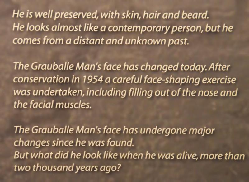 grauballe man description Moesgaard Museum aarhus denmark