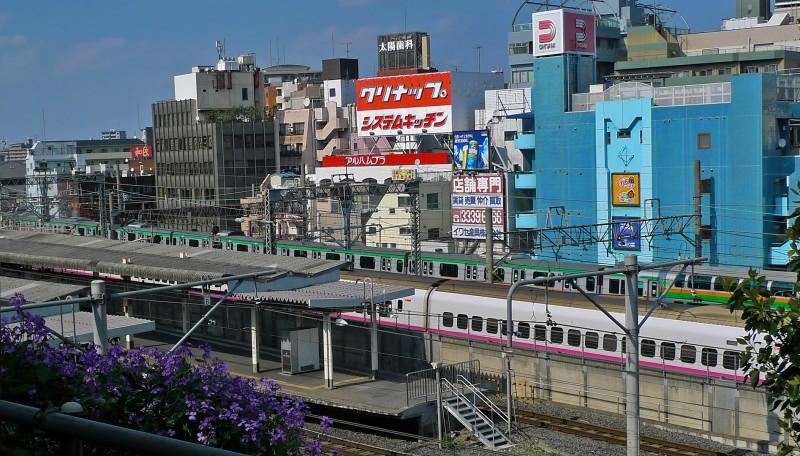nippori station tokyo japan