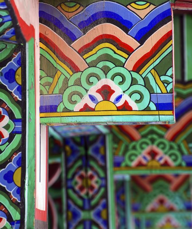beomeosa busan korean color