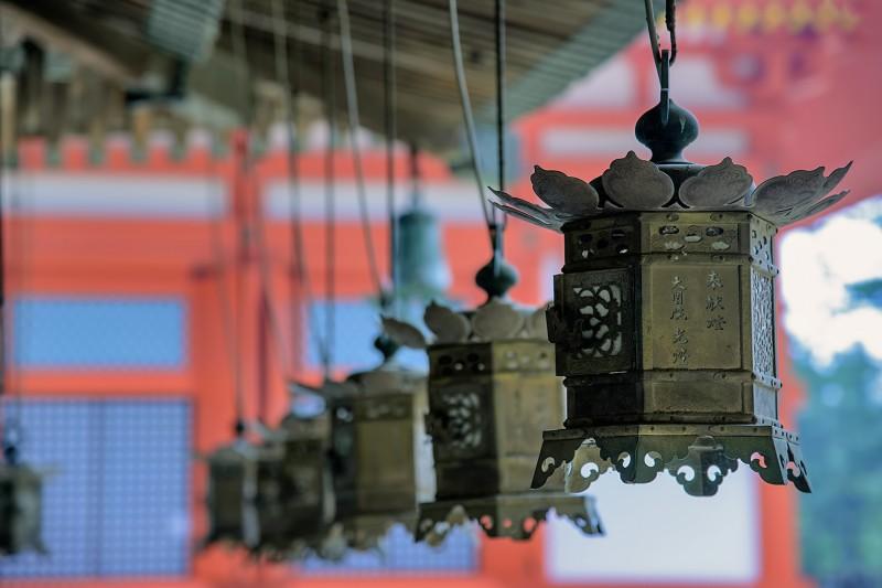 Danjo Garan lanterns koyasan japan