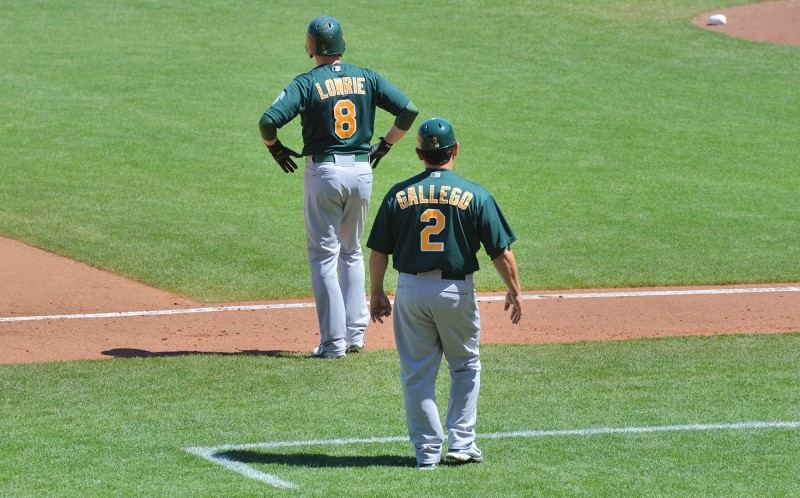 lowrie gallego oakland a's