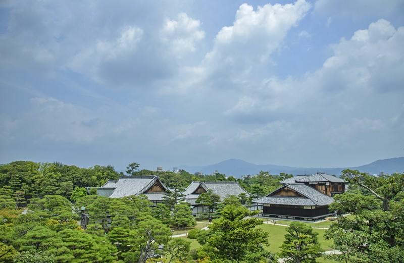 Nijojo nijo castle kyoto japan