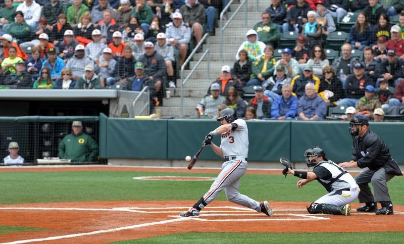 OSU beavers baseball Kavin Keyes