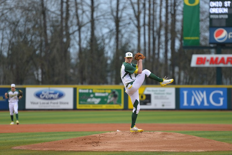 Oregon Ducks Baseball Matt Krook