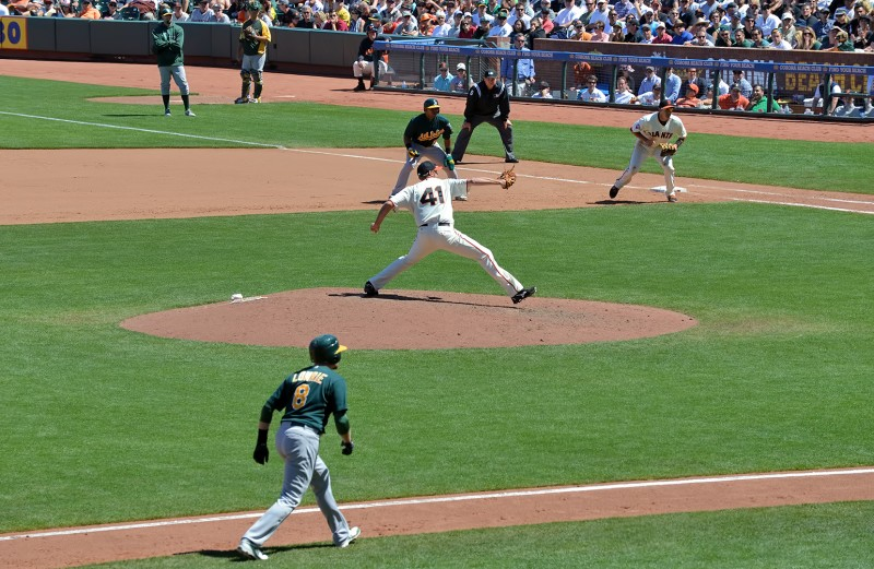 a's giants lowrie cespedes