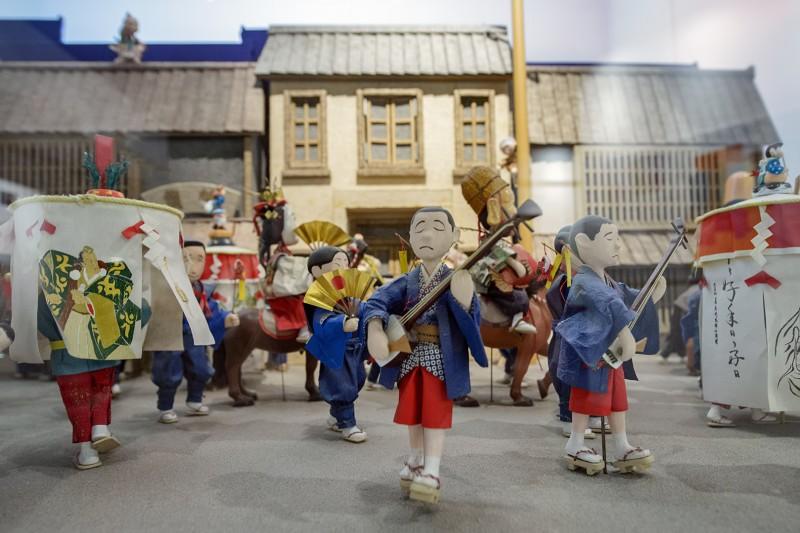 Hakata Machiya Folk Museum diorama