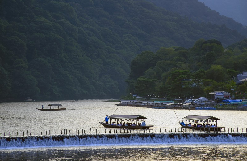 arashiyama Hozu River 保津川