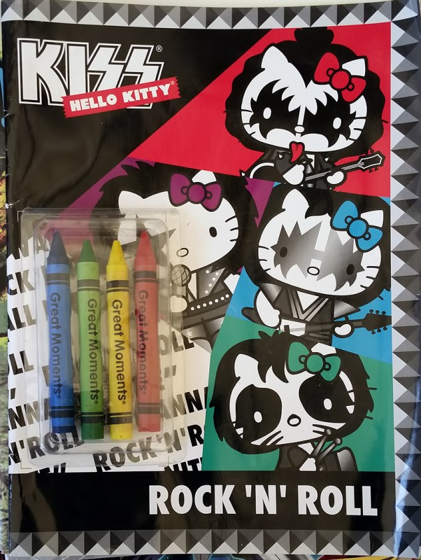 hello kitty kiss coloring book guanajuato