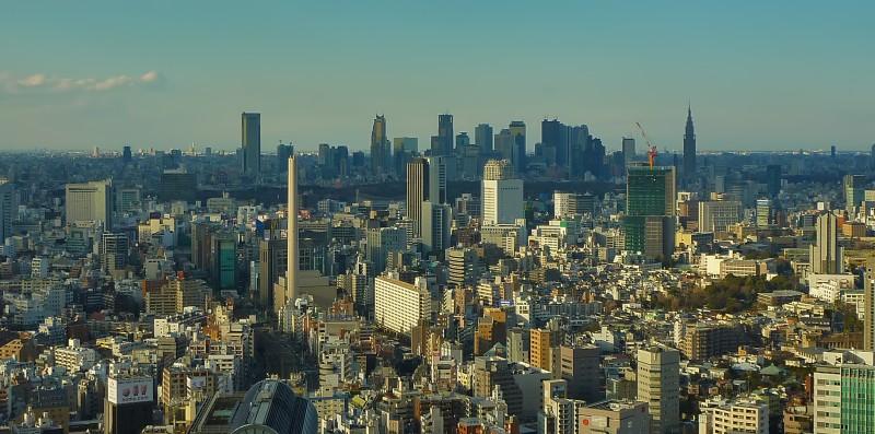 Tokyo from Ebisu Garden Place Tower