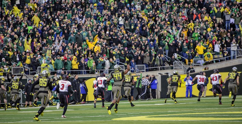 De'Anthony Thomas 86 yard kickoff return oregon ducks football