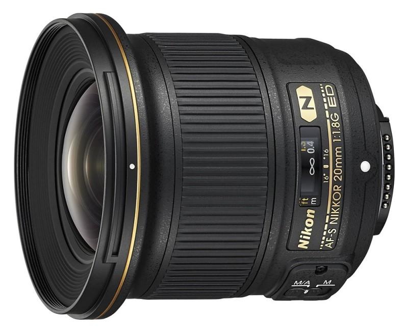 Nikkor (Nikon) 20mm f/1.8G lens