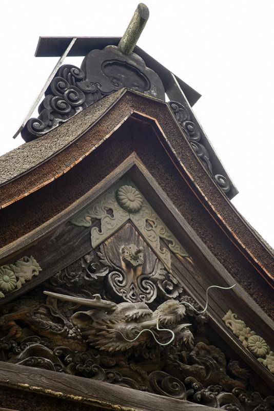 kongobuji roof detail