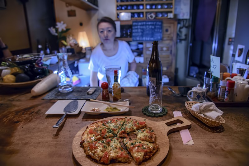 daruma kyoto izakaya akachochin mama san pizza
