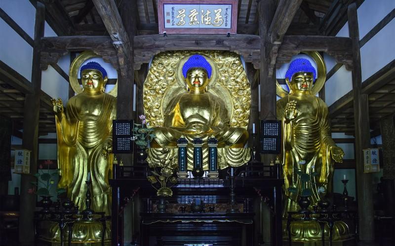 fukuoka shofukuji buddhas