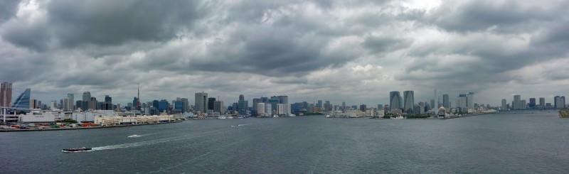 tokyo photomerge Panorama wan bay