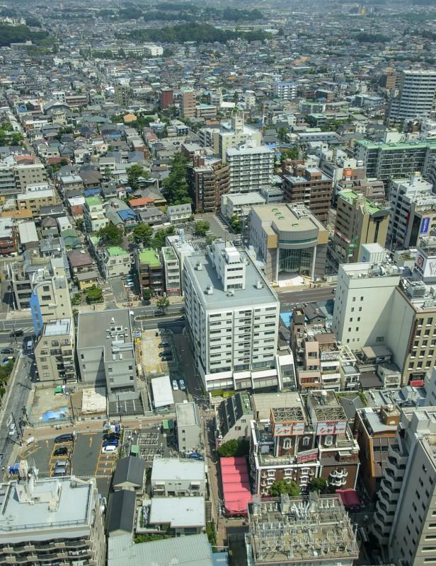 ichikawa city tokyo i-link town observation floor