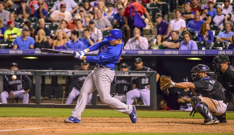 Anthony Rizzo Coors Field Chicago Cubs