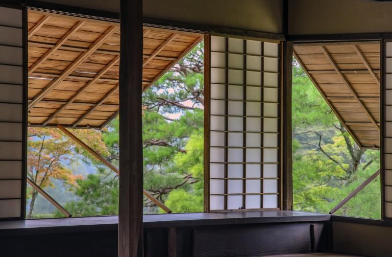 Rinuntei 隣雲亭 kyoto Shugakuin Imperial Villa