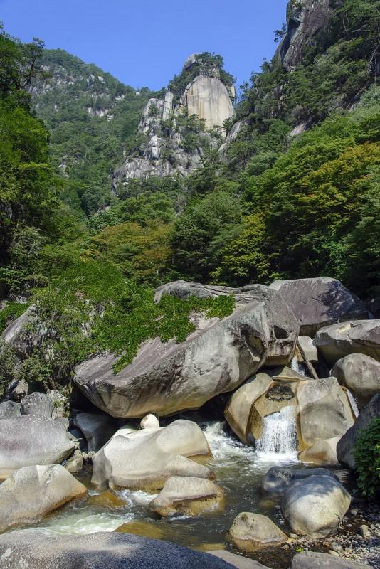 shosenkyo gorge arakawa river