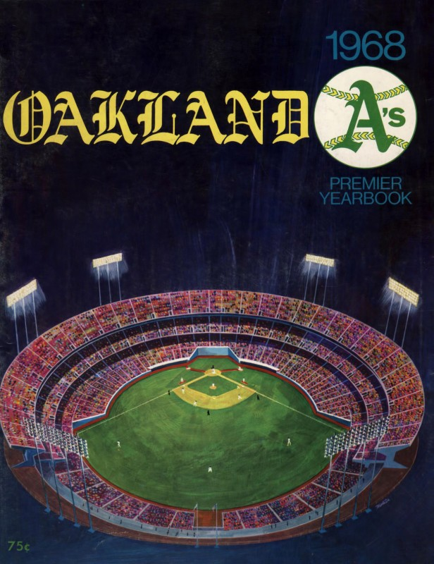 Oakland A's 1968 premier yearbook