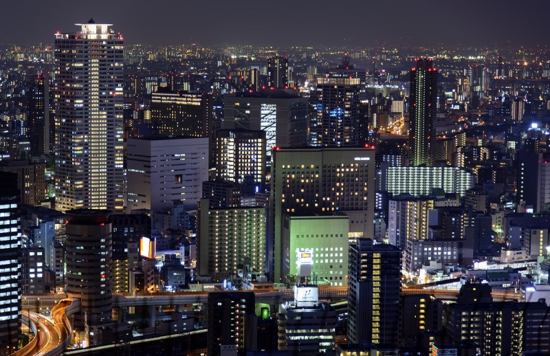 osaka nightscape