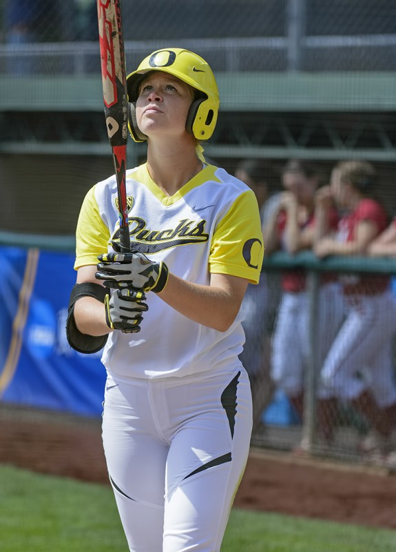 Oregon Ducks Softball Alyssa Gillespie