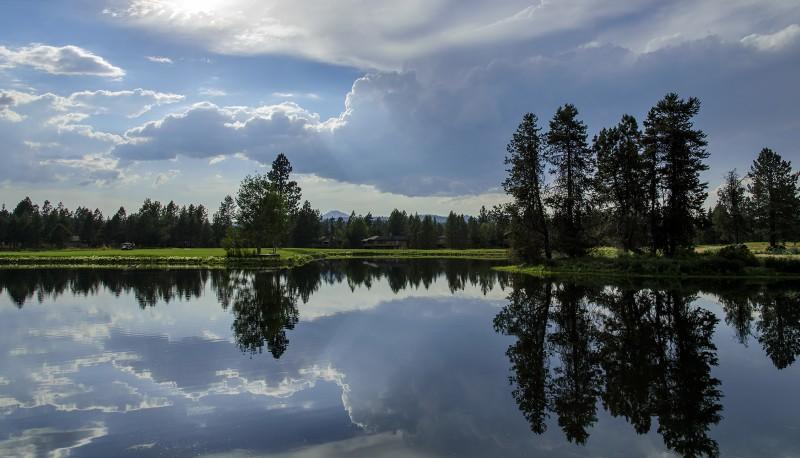 woodlands golf course sunriver mt bachelor
