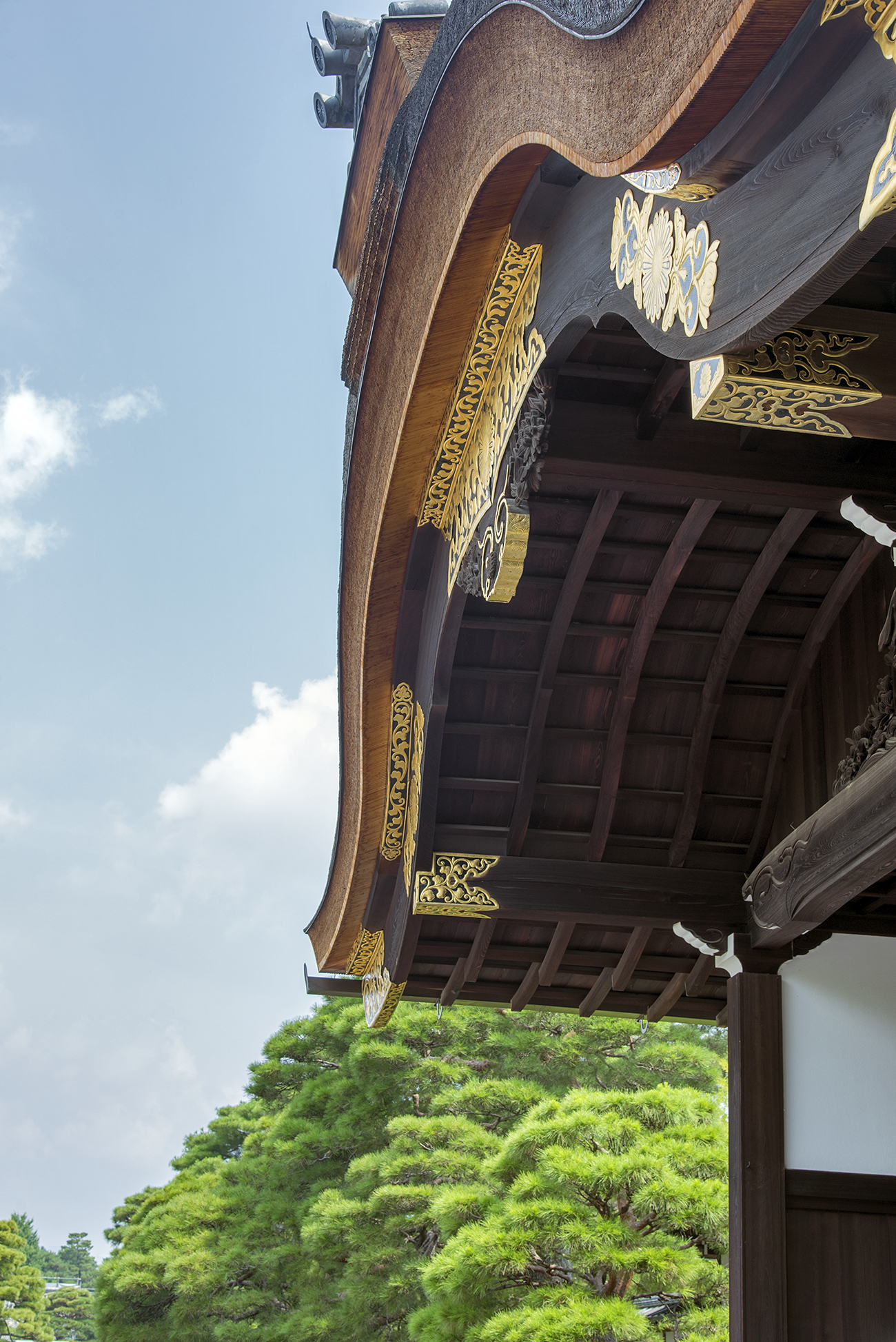 Kyoto Imperial Palace gate