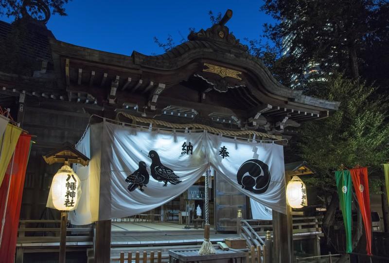 八幡神社 tokyo jinja hachiman