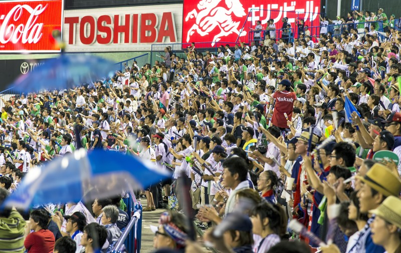 yakult swallows jingu stadium umbrella