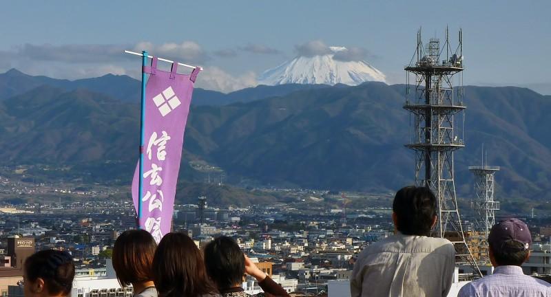 mt fuji kofu shingen festival