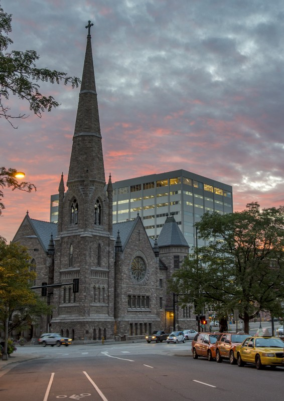 denver church sunrise comfort inn downtown
