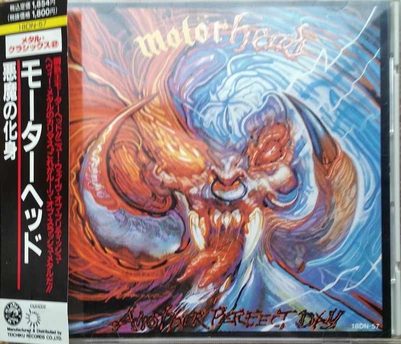 motorhead another perfect day japanese edition 悪魔の化身