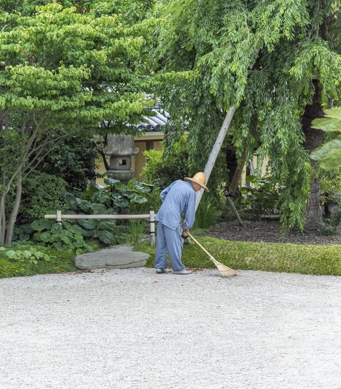 tochoji rock garden fukuoka japan
