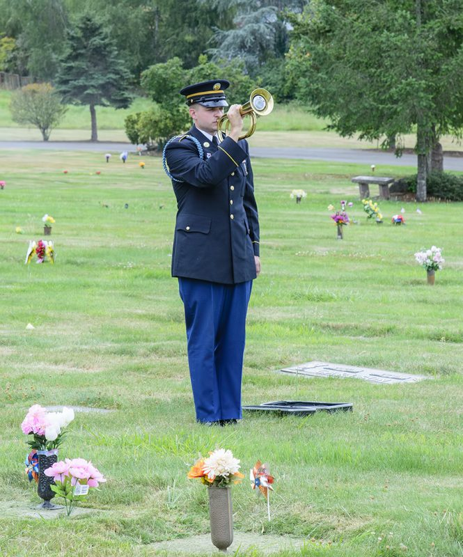 Glenn Case funeral
