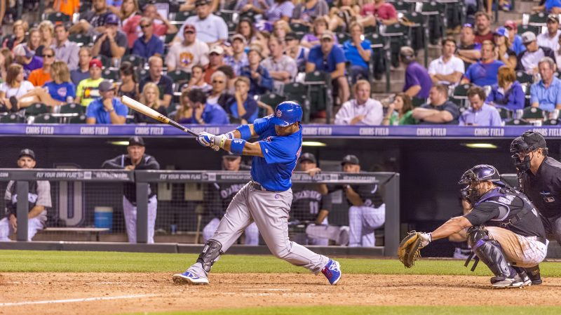 chicago cubs luis valbuena coors field