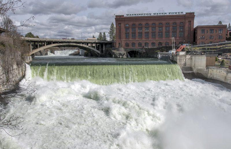 washington spokane water power